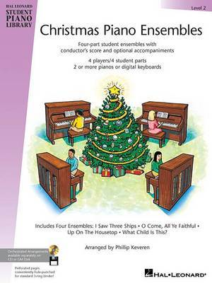 Hal Leonard Student Piano Library: Christmas Piano Ensembles Level 2