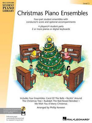 Christmas Piano Ensembles - Level 3 Book: Hal Leonard Student Piano Library
