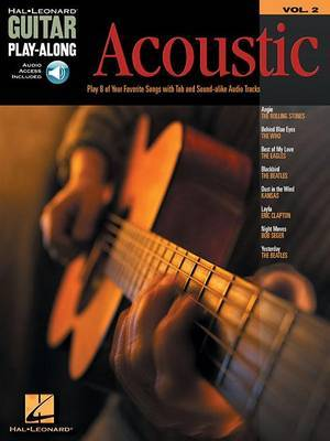 Guitar Play-Along Volume 2: Acoustic (Book/Online Audio)