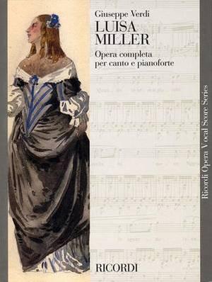 Luisa Miller: Vocal Score
