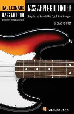 Hal Leonard Bass Method: Bass Arpeggio Finder (Small Format)