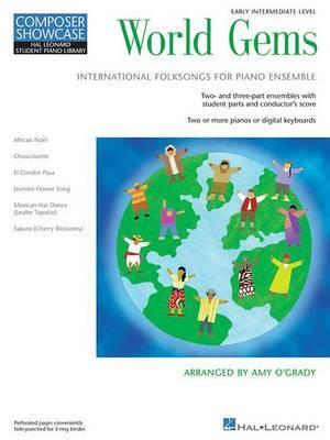 World Gems: Folk Songs for Piano Ensemble
