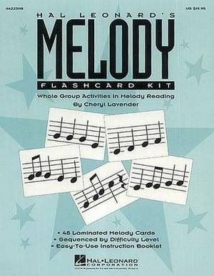 Hal Leonard's Melody Flashcard Kit: Whole Group Activities in Melody Reading