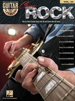 Guitar Play-Along: Classic Rock: Volume 34