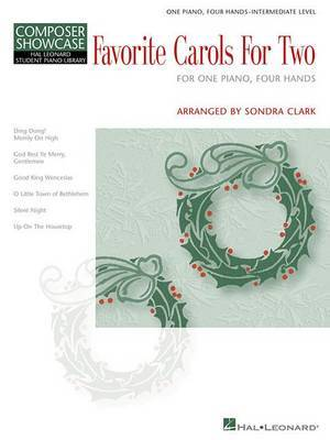Hal Leonard Student Piano Library: Favourite Carols for Two (One Piano, Four Hands)