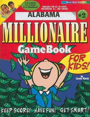 Alabama Millionaire Gamebook for Kids!