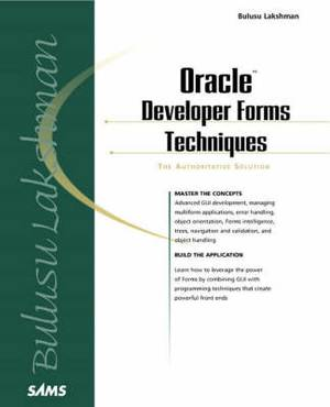 Oracle Developer Forms Techniques