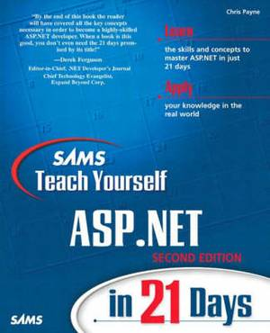 Sams Teach Yourself Asp.Net in 21 Days