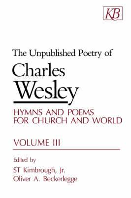 The Unpublished Poetry: v. 3