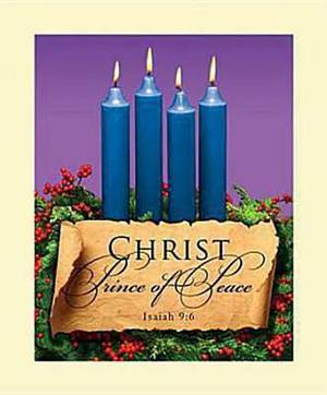 Advent Blue Sunday 4 Bulletin 2011, Large (Package of 50)