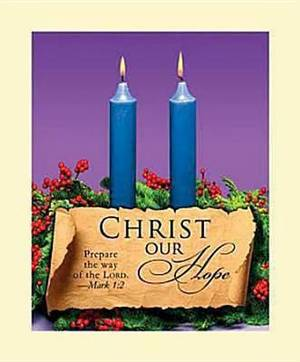 Advent Blue Sunday 2 Bulletin 2011, Large (Package of 50)