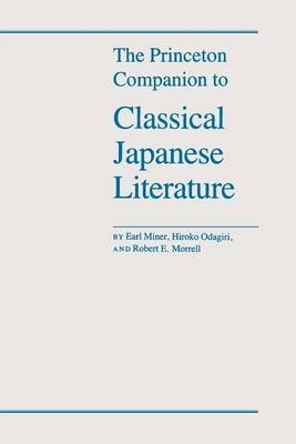 The Princeton Companion to Classical Japanese Literature