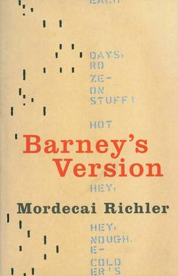 Barney's Version: A Novel