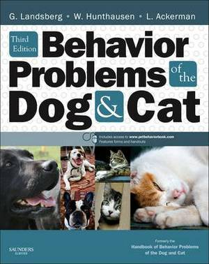Handbook of Behaviour Problems of the Dog and Cat, 3e