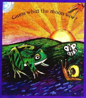 Guess what the moon saw?: Level 2: Gr 1: Reader