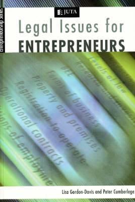 Legal issues for entrepreneurs