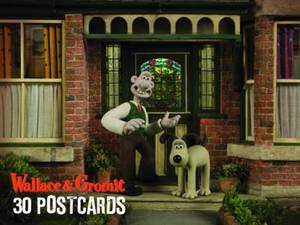 Wallace and Gromit Postcard Matchbox