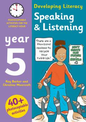 Speaking and Listening: Year 5: Photocopiable Activities for the Literacy Hour