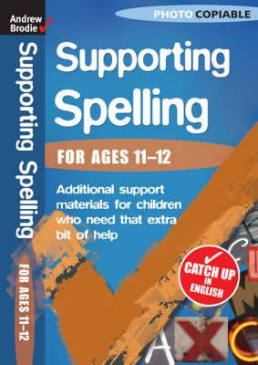 Supporting Spelling 11-12