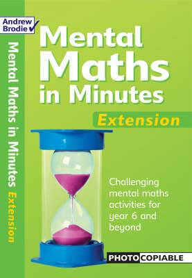 Mental Maths in Minutes: Extension