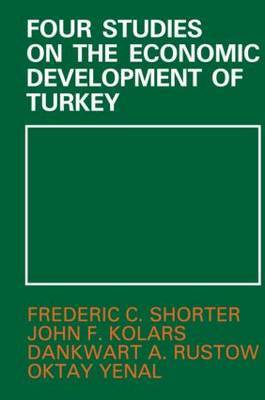 Four Studies on the Economic Development of Turkey