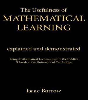 Usefulness of Mathematical Learning