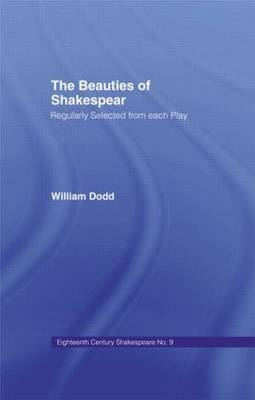 Beauties of Shakespeare: Eighteenth Century Shakespeare: Volume 9