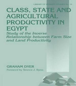 Class, State, and Agricultural Productivity in Egypt: Study of the Inverse Relationship Between Farm Size and Land Productivity