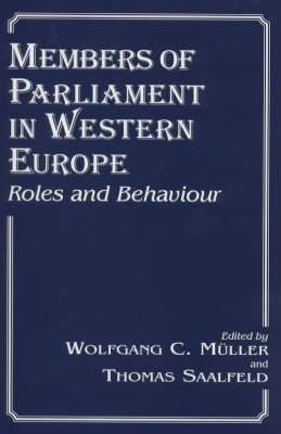 Members of Parliament in Western Europe: Roles and Behaviour