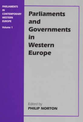 Parliaments in Contemporary Western Europe: Volume 1