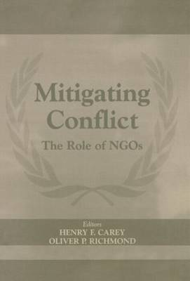 Mitigating Conflict: The Role of NGO's