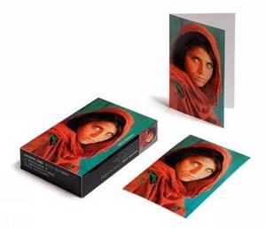 Steve McCurry; Afghan Girl Cards