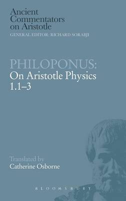 Philoponus on Aristotle  Physics 1.13