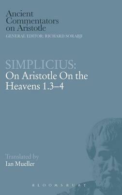 Simplicius: On Aristotle on the Heavens 1.3-4