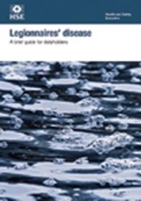 Legionnaires' disease: a brief guide for dutyholders (pack of 10)