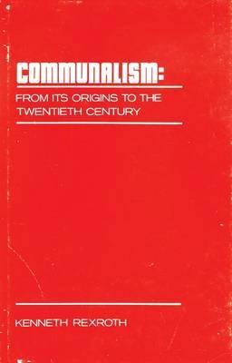 Communalism: From Its Origin to the Twentieth Century