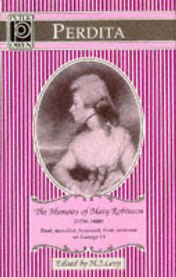 Perdita: Memoirs of Mary Robinson