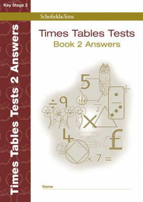 Times Tables Tests Answer Book 2