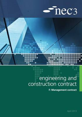 NEC3 Engineering and Construction Contract Option F: Management contract