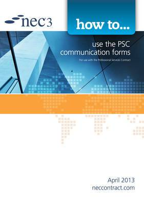 How to use the PSC communication forms