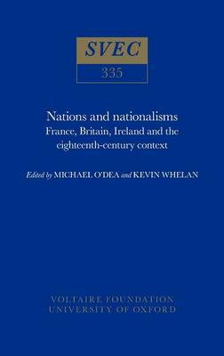 Nations and Nationalisms: France, Britain, Ireland and the Eighteenth Century
