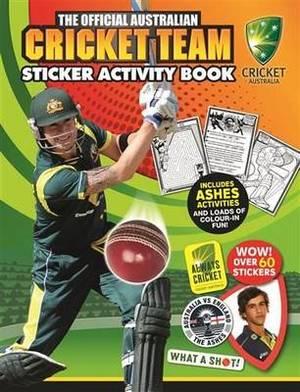 The Official Australian Cricket Team Sticker Activity Book