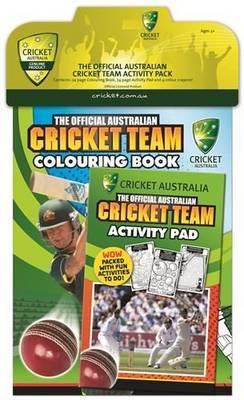 Official Australian Cricket Team Activity Pack