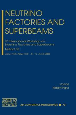 Neutrino Factories and Superbeams: 5th International Workshop on Neutrino Factories and Superbeams