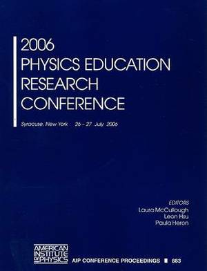Physics Education Research Conference: 2006
