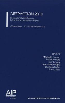 Diffraction 2010: International Workshop on Diffraction in High Energy Physics