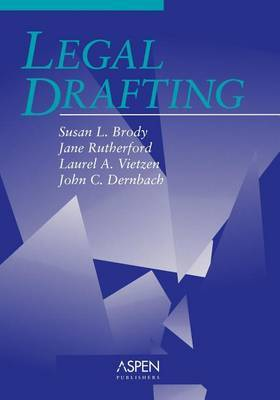 Legal Drafting (Aspen) Sb