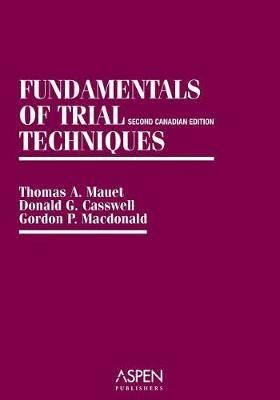 Fundamentals of Trial Techniq Sb