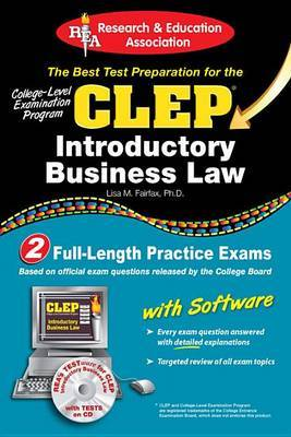 CLEP(R) Introductory Business Law with CD