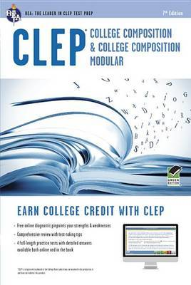 CLEP(R) College Composition Book + Online